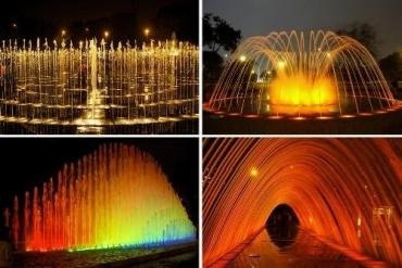 Parque de las aguas en la Ciudad de Lima